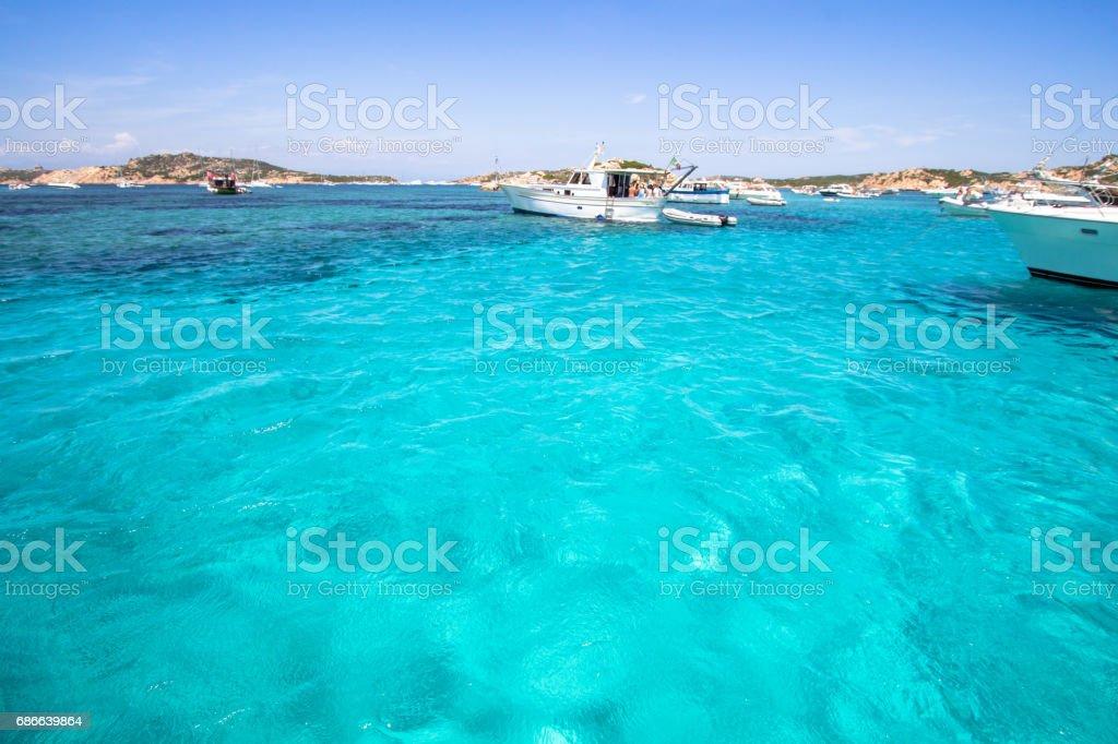Porto della Madonna, Maddalena Archipelago, Sardinia, Italy royalty-free stock photo