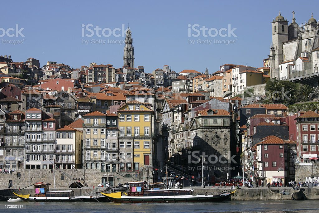 Porto from Gaia royalty-free stock photo