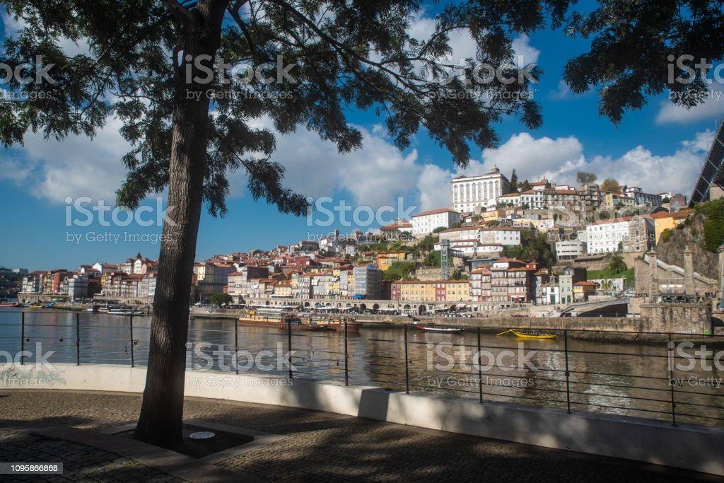 Porto historical architecture stock photo