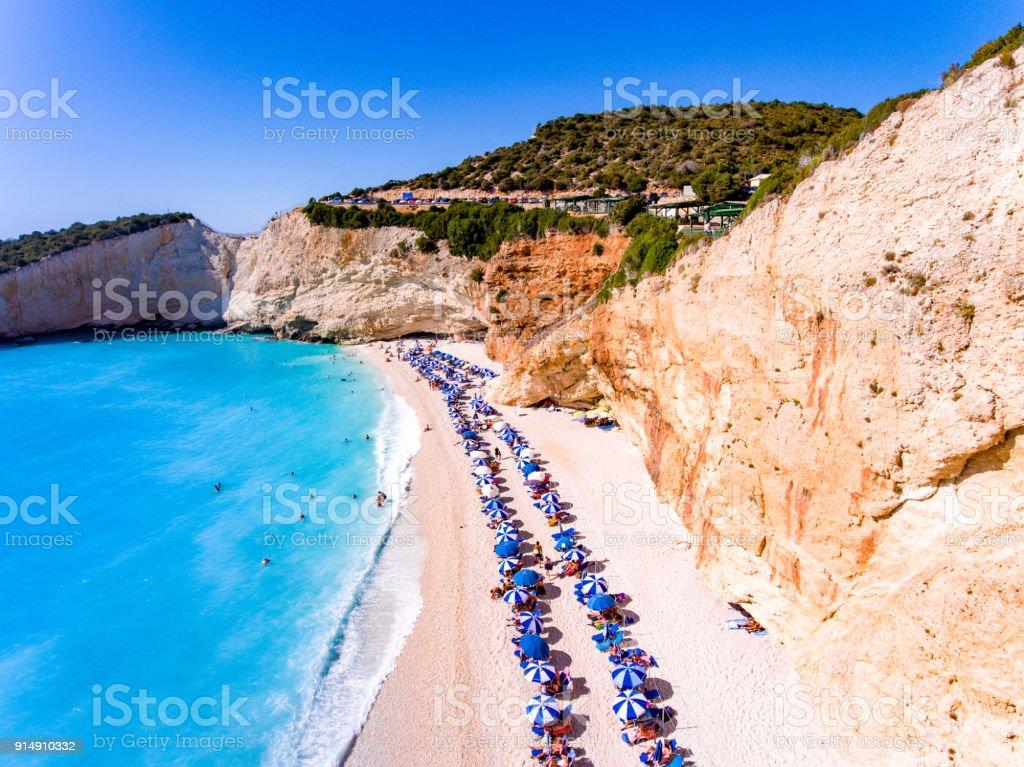 Porto Katiski Strand In Insel Lefkada Griechenland Die Schönsten