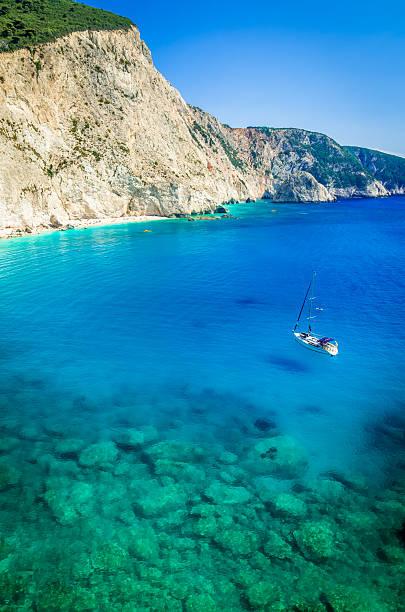 Porto Katsiki Strand Insel Lefkada, Griechenland – Foto