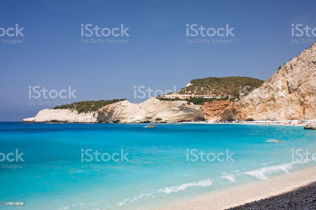 Porto Katsiki - Lefkada royalty-free stock photo