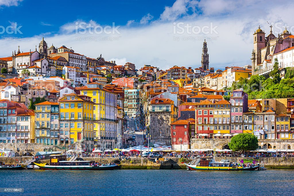 Porto Portugal Old City stock photo