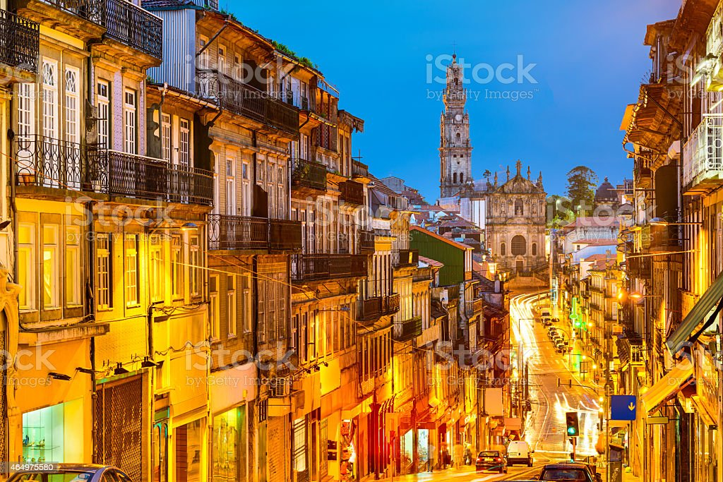 Porto, Portugal Old City View stock photo