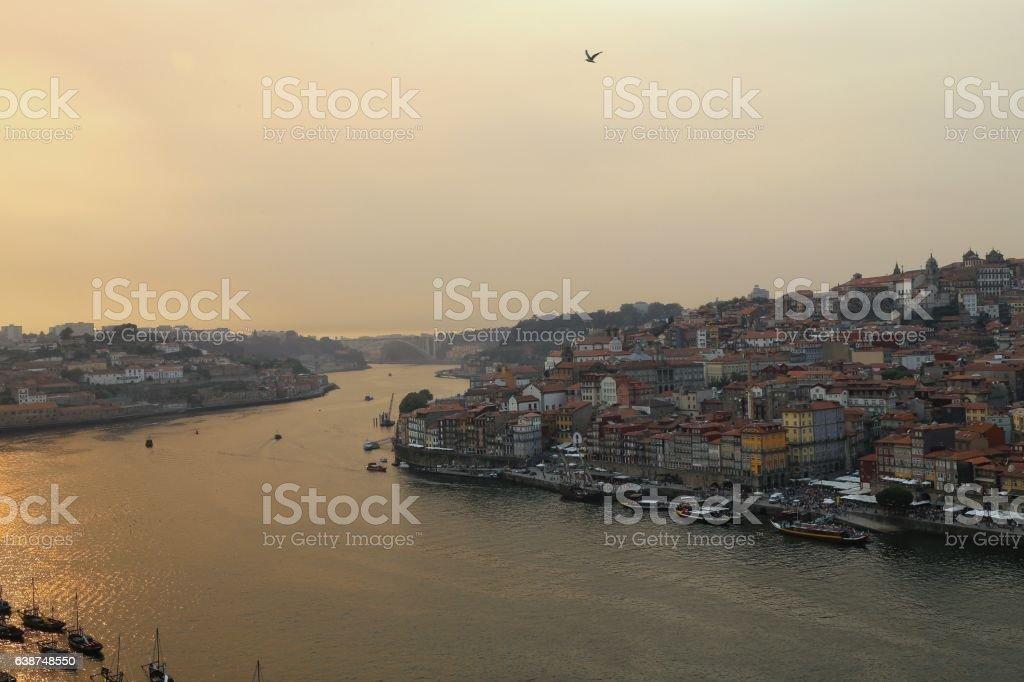 Porto Portugal on the river stock photo