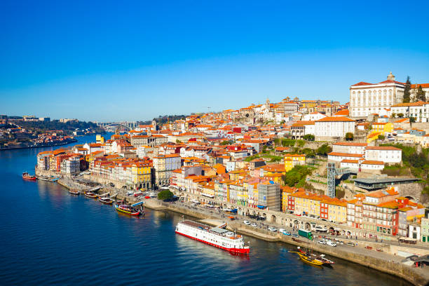 Porto, Portugal City of Porto, Portugal on a sunny day. duero stock pictures, royalty-free photos & images
