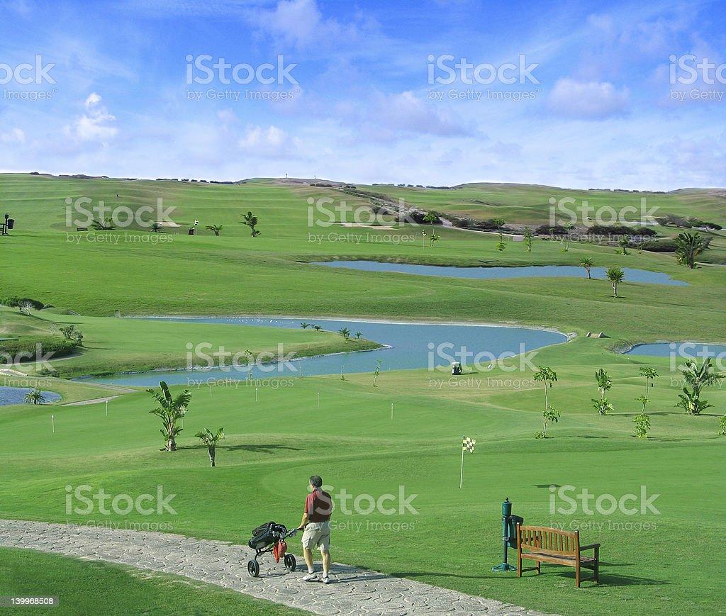 Porto Santo Golf royalty-free stock photo