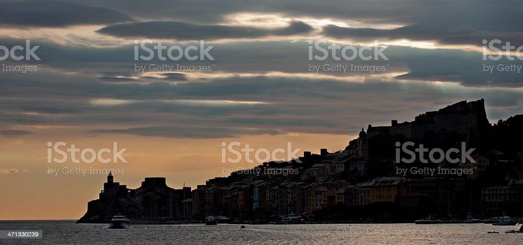 Porto Venere stock photo