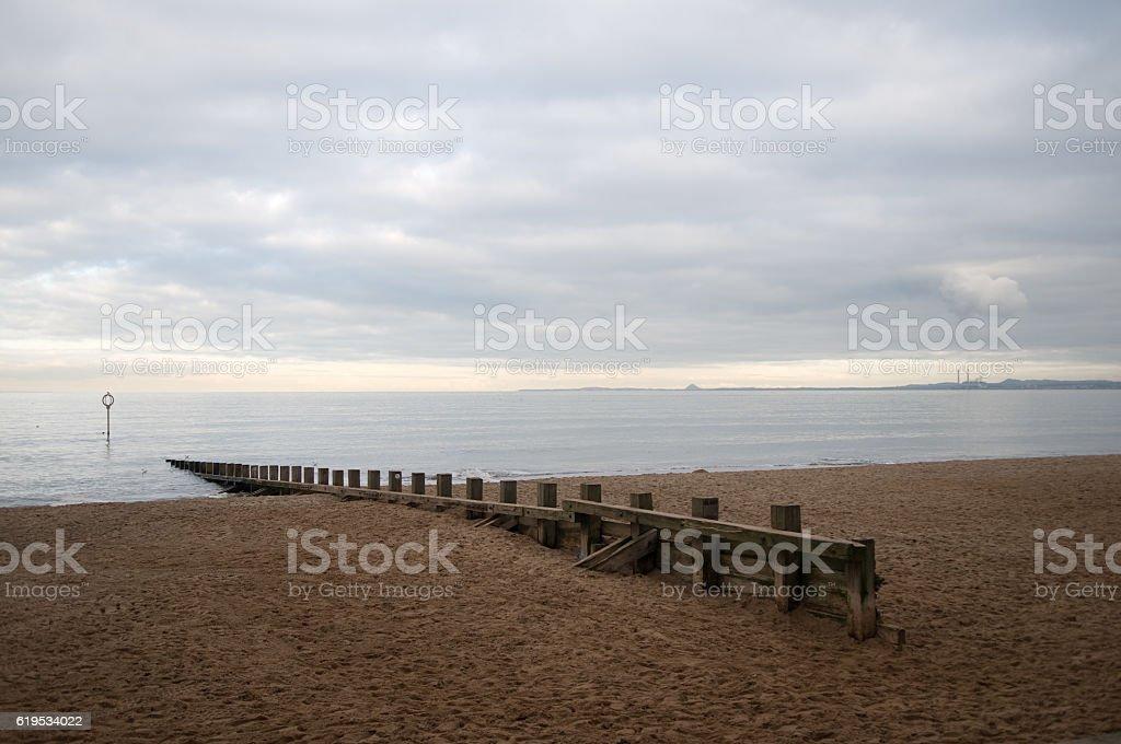 Portobello Beach stock photo