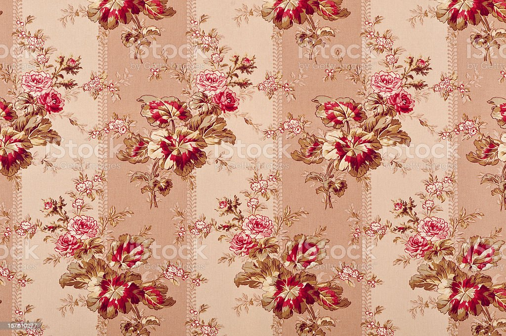 Portobello Stripe Medium Antique Fabric royalty-free stock photo