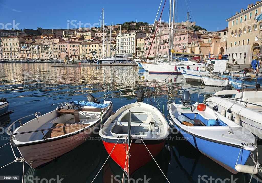 포토페라이오, 건넌편 엘바, Italy. royalty-free 스톡 사진