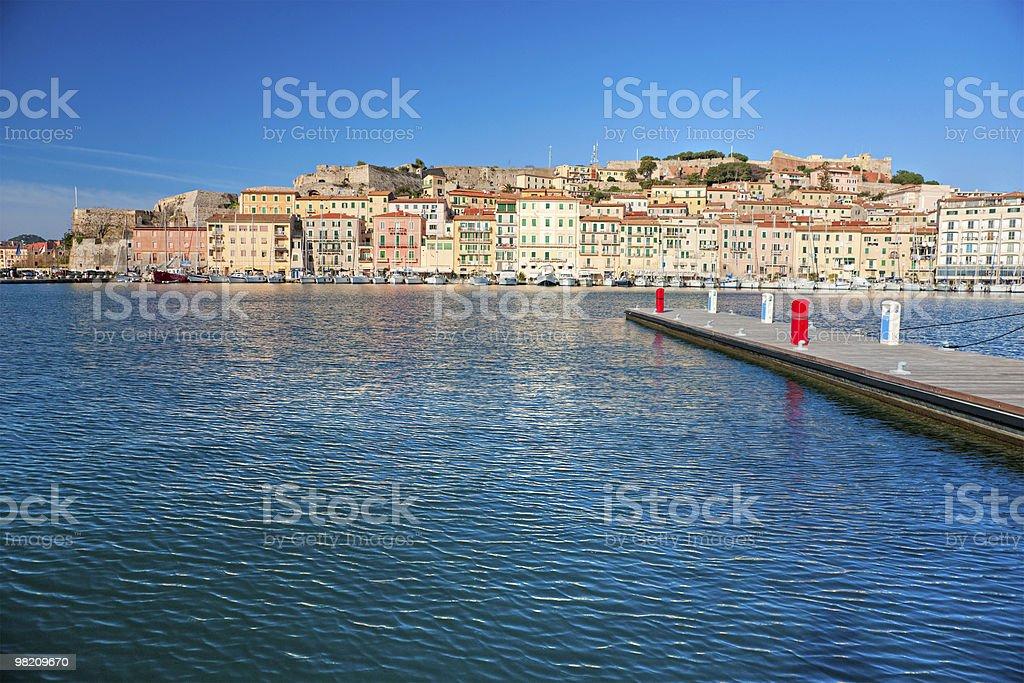 Portoferraio, Isle of Elba, Tuscany. royalty-free stock photo