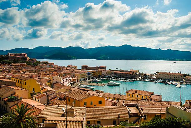 PortoFerraio, isola d'Elba - Italy stock photo
