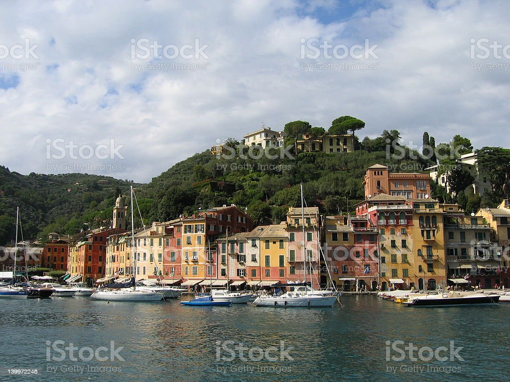 Portofino harbor 2 royalty-free stock photo