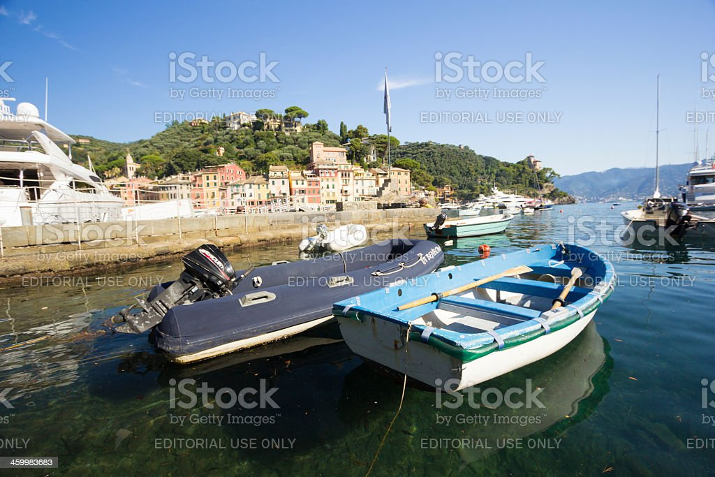 Portofino in Liguria, Italy royalty-free stock photo