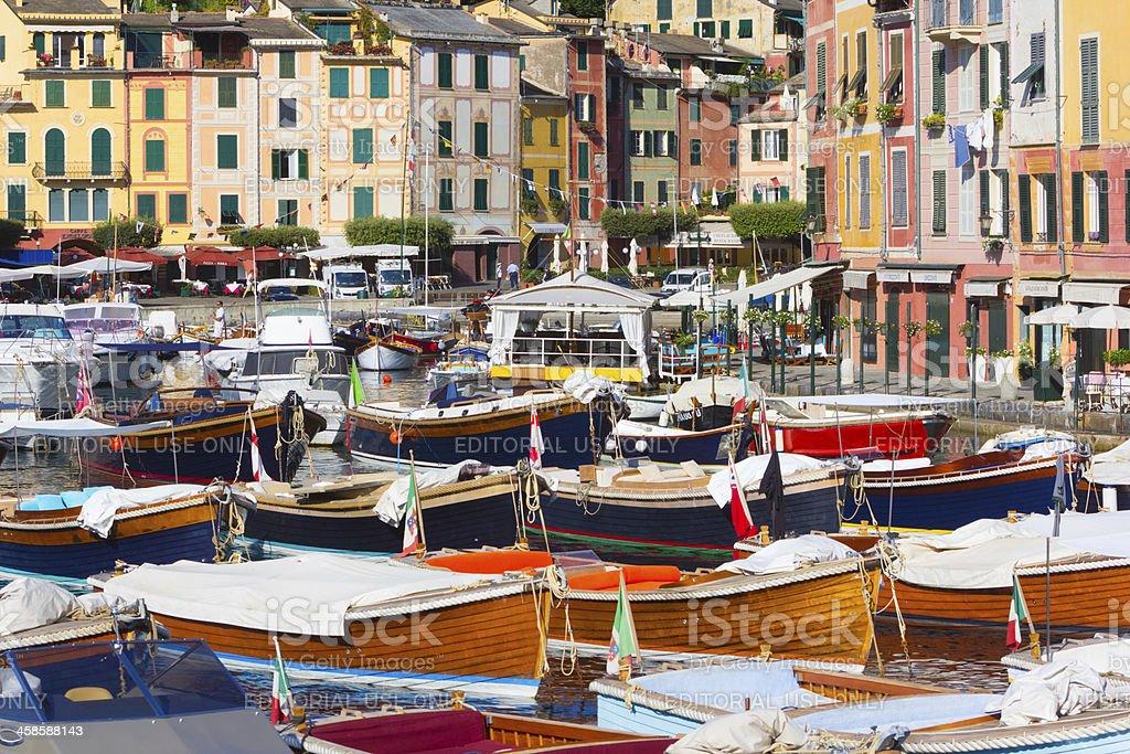 Portofino in the Riviera di Levante, Italy royalty-free stock photo