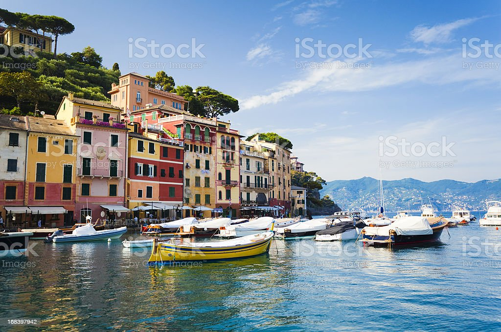 Portofino, Liguria, Italy stock photo