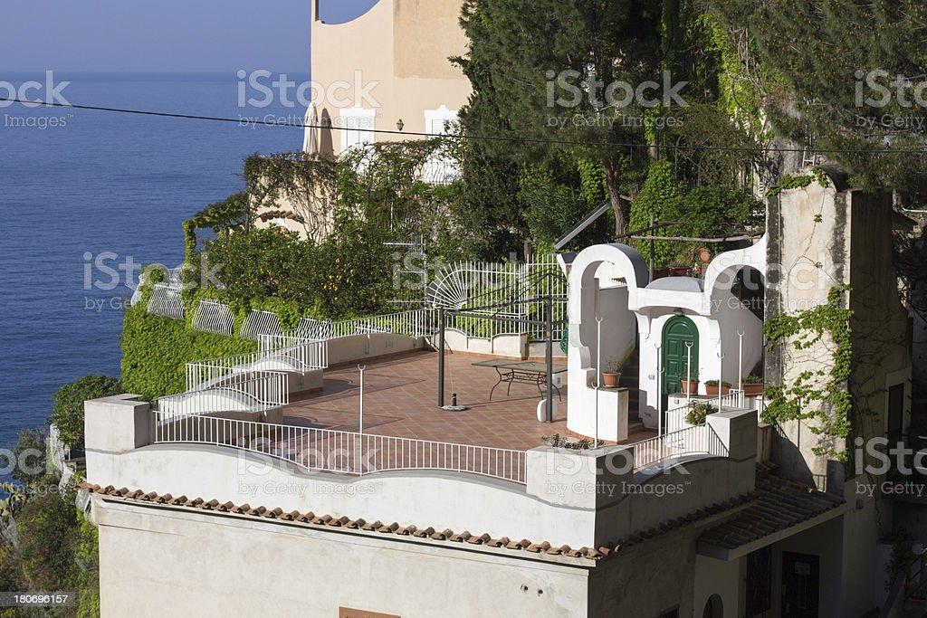 Portofino on the Amalfi Coast, Italy royalty-free stock photo