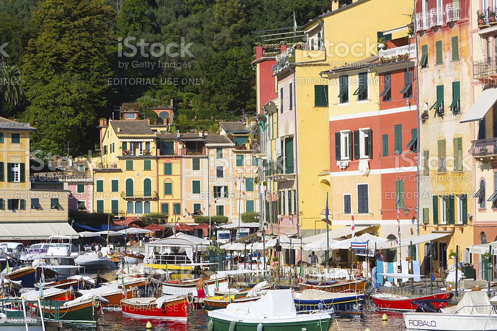 Portofino on the Riviera di Levante, Italy royalty-free stock photo