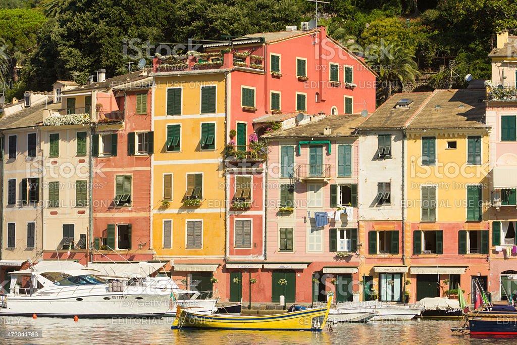 Portofino on the Riviera di Levante, Italy royalty-free stock photo