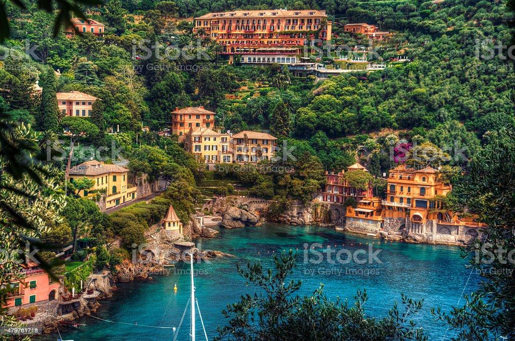 Portofino seaside stock photo