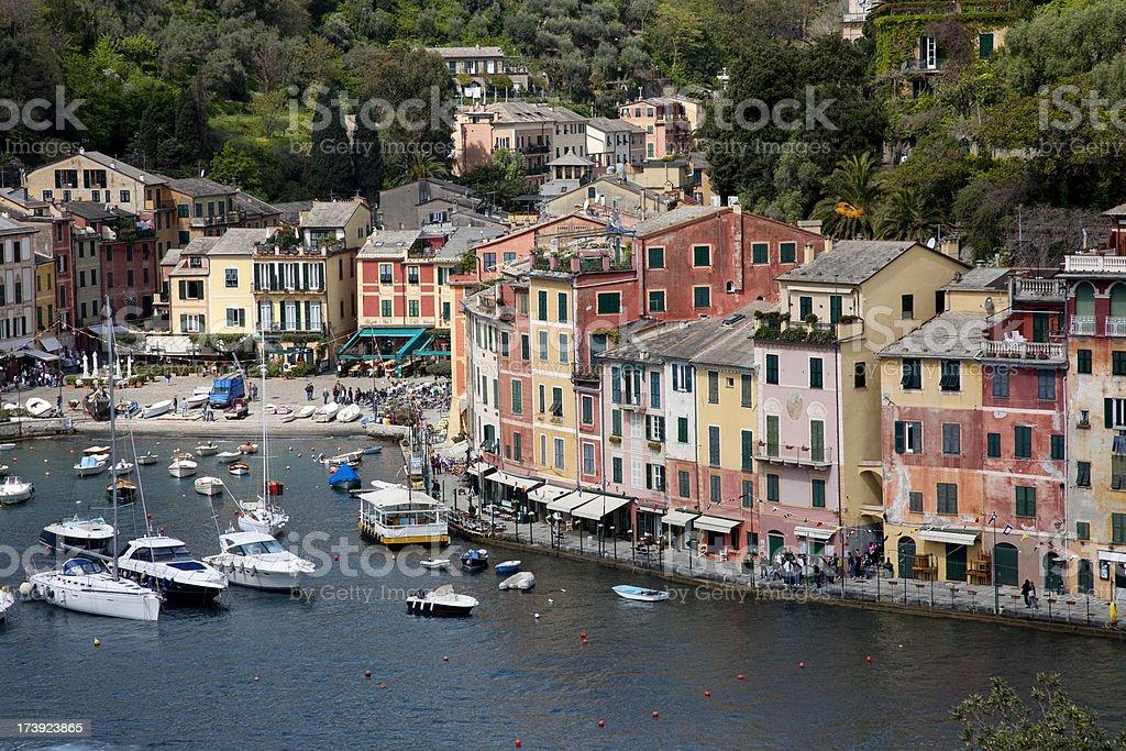 Portofino view royalty-free stock photo
