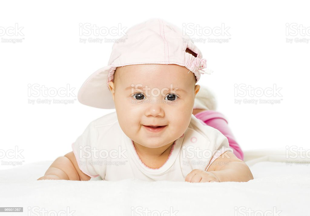 Portrait baby girl royalty-free stock photo