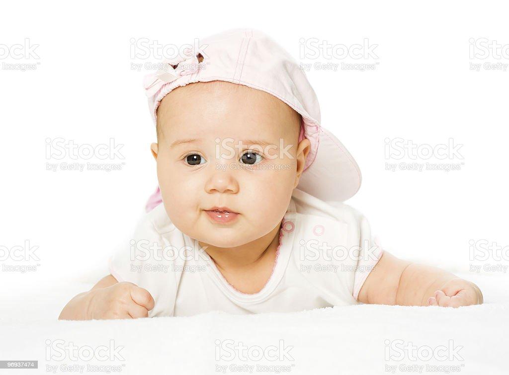 Portrait baby girl royalty-free stock photo