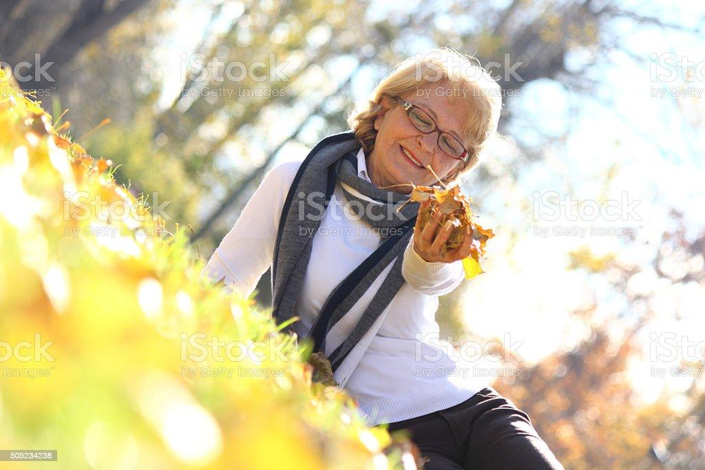 Portrait cheerful woman royalty-free stock photo