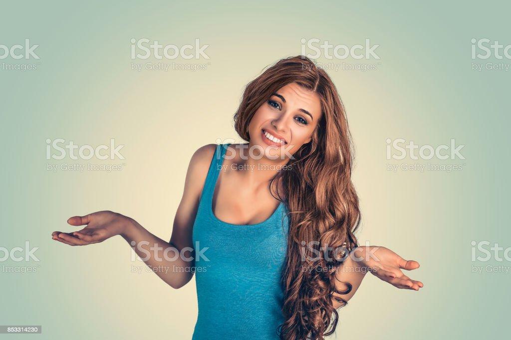 383c95d07cbe Portrait Closeup Beautiful Smile Latina Graduate Graduated Student ...