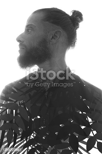 498089686 istock photo A portrait combined with a digital illustration 1215722861