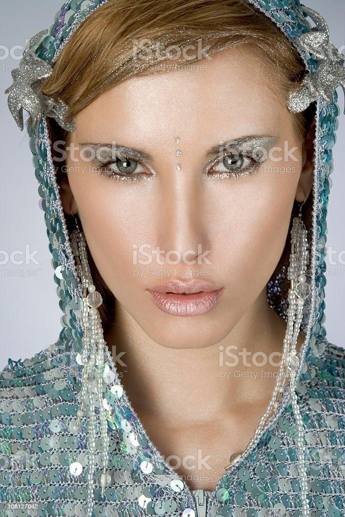portrait - cyber girl royalty-free stock photo
