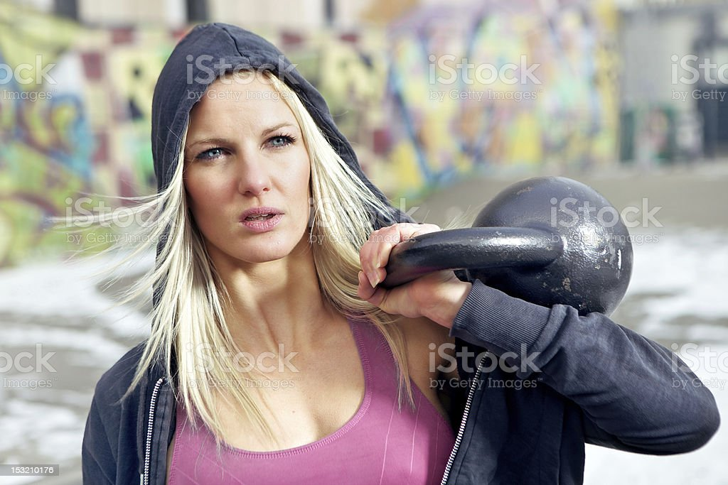 Sexy Fit Woman In Ghetto Pictures Images And Stock Photos