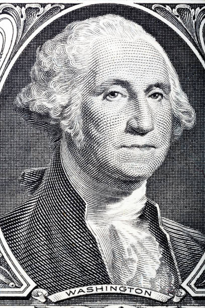 Portrait in macro of Washington's Face on a one dollar bill Portrait in macro of Washington's Face on a one dollar bill. Hi resolution photo. debt ceiling stock pictures, royalty-free photos & images