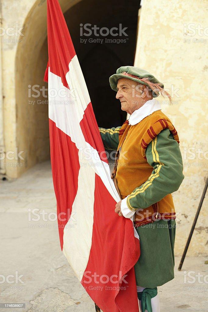 Portrait  Knight royalty-free stock photo