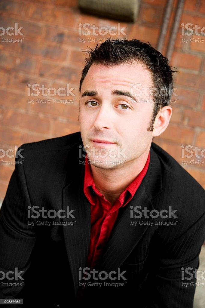 Portrait / Male royalty-free stock photo