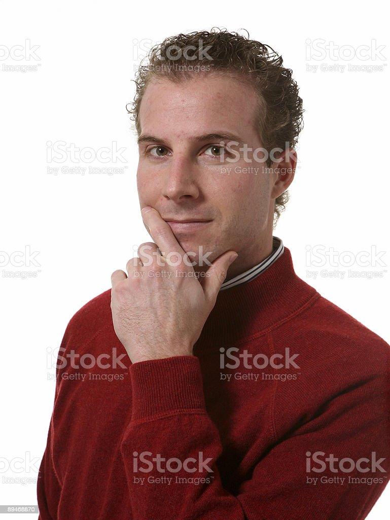 Retrato de hombre foto de stock libre de derechos