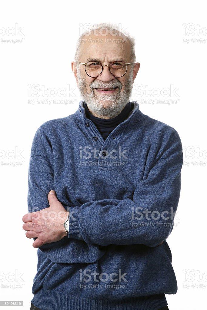 Ritratto di uomo foto stock royalty-free