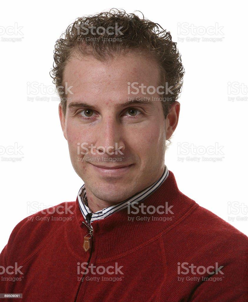 portrait man royalty-free stock photo
