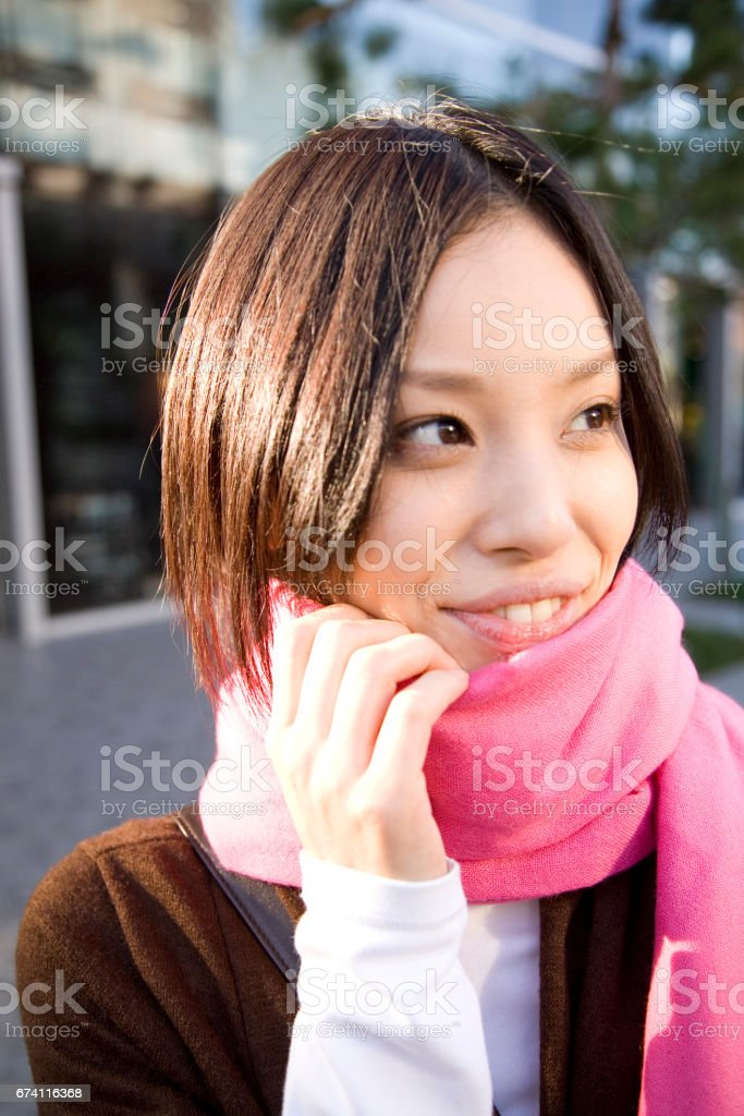 20 的畫像-東西日本女人 免版稅 stock photo