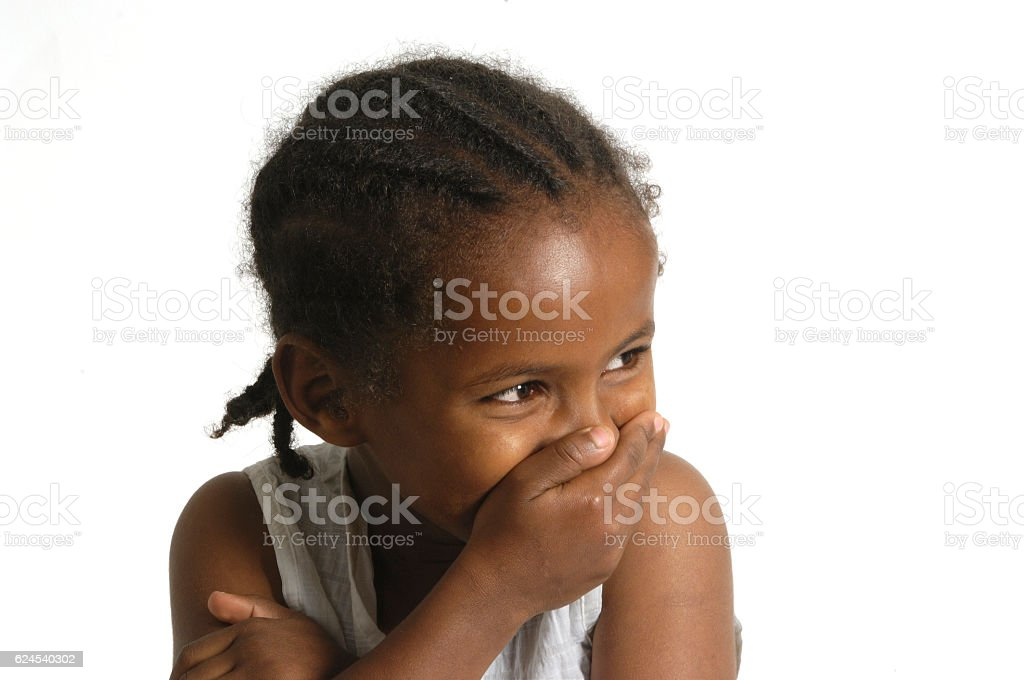 Portrait of a african young girl – Foto