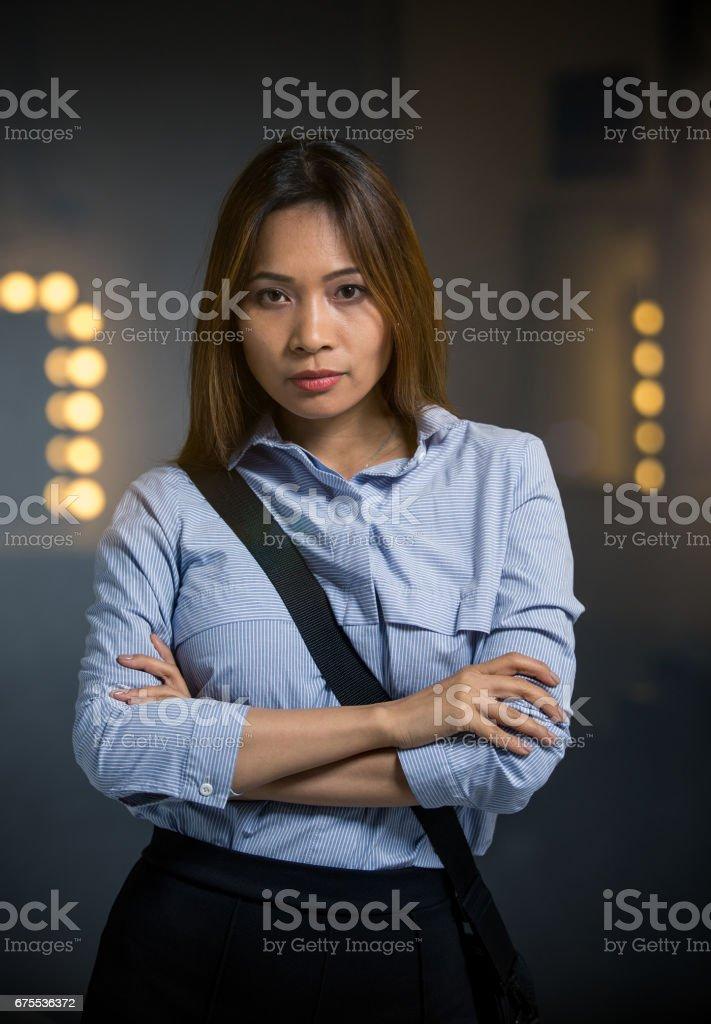 Portrait of a Asian businesswoman photo libre de droits