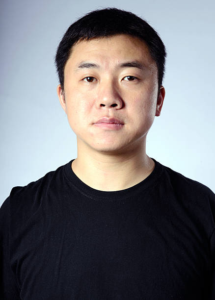 Porträt von einem asiatischen Mann – Foto