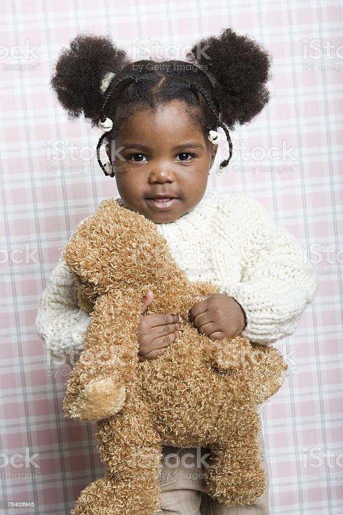 Retrato de uma menina de foto de stock royalty-free