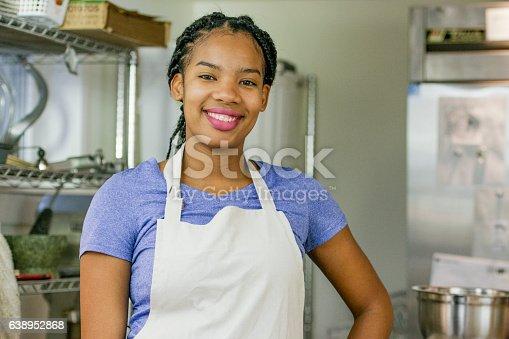 istock Portrait of a Baker 638952868
