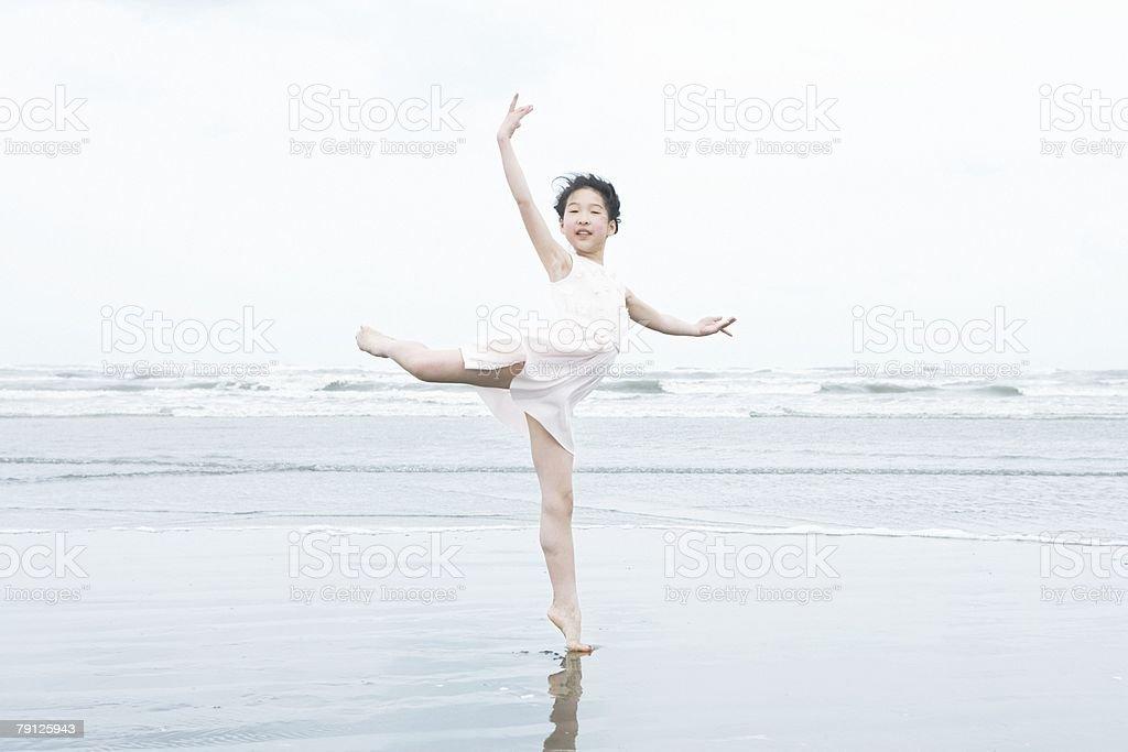 Portrait of a ballerina 免版稅 stock photo
