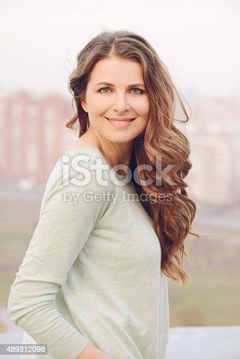 istock portrait of a beautiful blonde woman 489312098