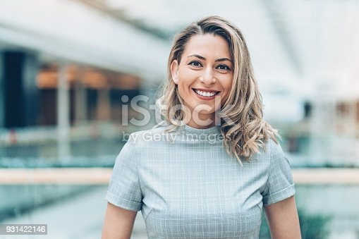 istock Portrait of a beautiful businesswoman 931422146