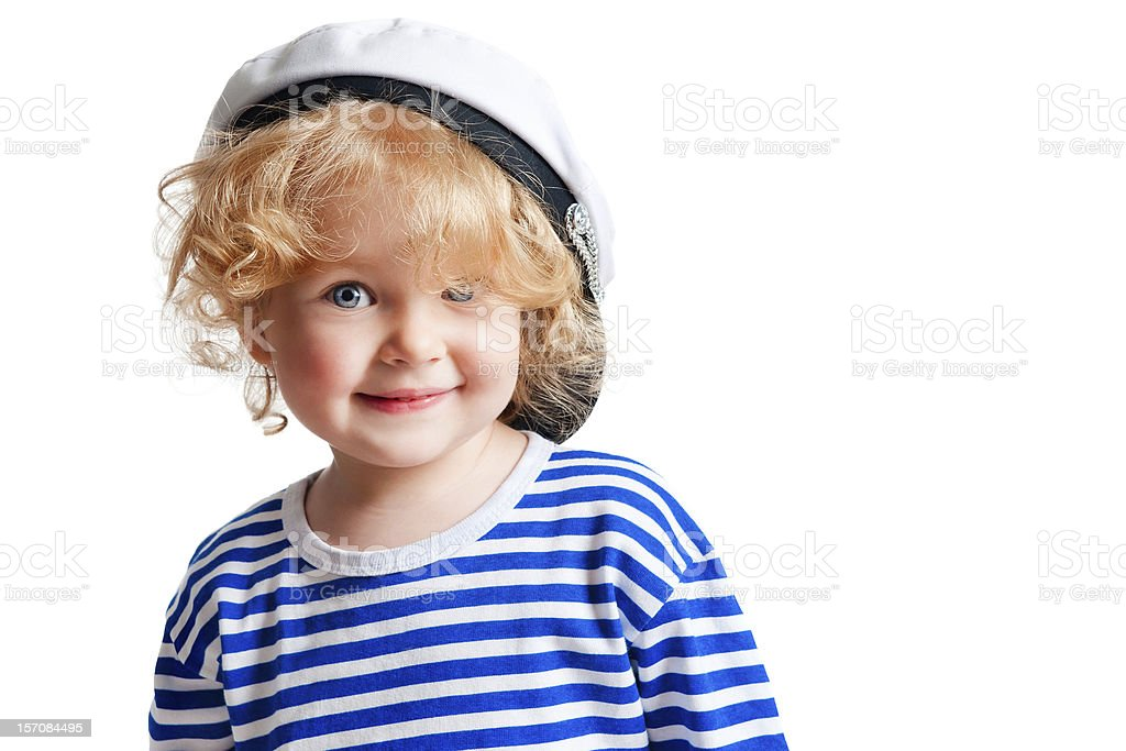 Portrait of a beautiful curly girl stock photo