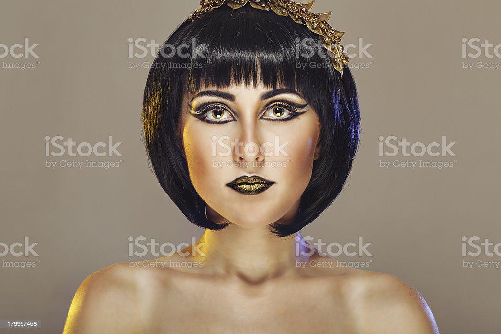 아름다운 소녀 세로는 royalty-free 스톡 사진